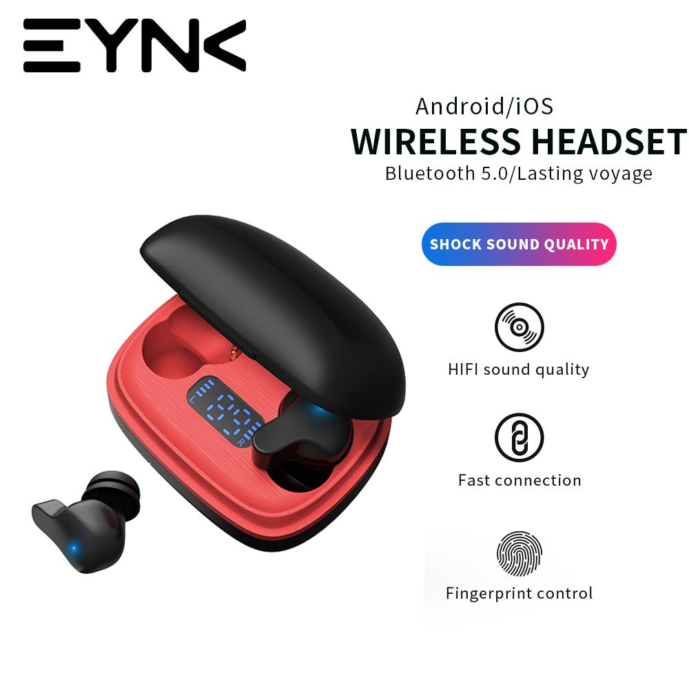 True Wireless Bluetooth Earphones