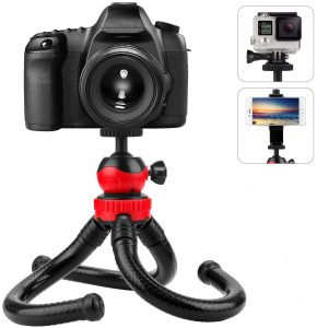 Mobile Tripod Phone Holder Stand