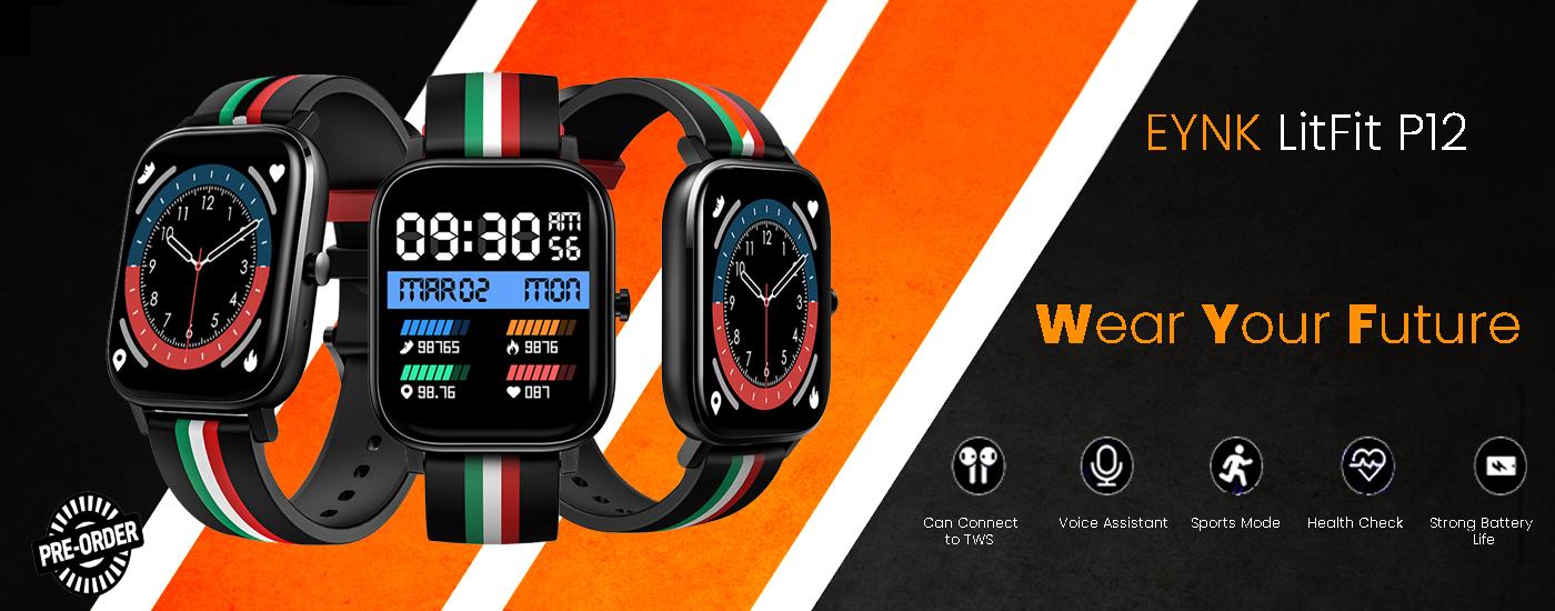Smartwatch with SPO2